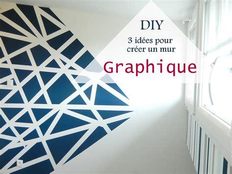 papier peint pour chambre à coucher diy 3 idées pour créer un mur graphique mon carnet déco