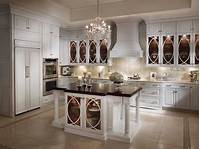 glass kitchen cabinets Acrylic vs. Laminate : What's The Best Finish For Kitchen Cabinets? | Interior Design Ideas