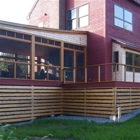 deck skirting ideas other than lattice 17 best images about deck trim on high deck