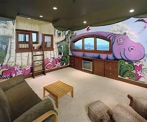 Ideen Für Kinderzimmer Wandgestaltung : kinderzimmer ideen lustige und farbige wandgestaltung ~ Lizthompson.info Haus und Dekorationen