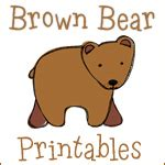 the almost perfectionist summer with the 818   Brown Bear Printables