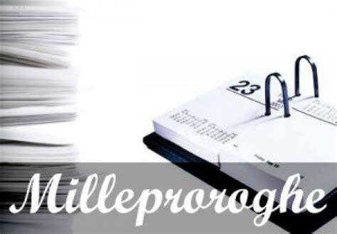 Testo Decreto Milleproroghe by Approvato Il Milleproroghe I Grillini Possono Festeggiare
