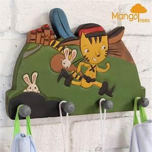 MANGO TREES Kids Room Wall Hooks Hanger Decorative