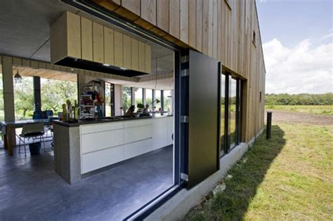 chambre loft le bardage bois d 39 une maison contemporaine