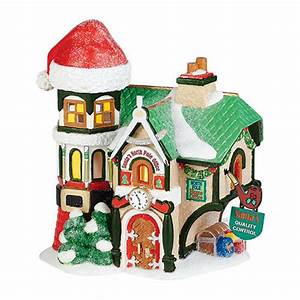 Charting Messages Department 56 North Pole Village New Santa 39 S North Pole
