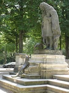 Electricien Paris 16eme : jean de la fontaine statues de paris ~ Premium-room.com Idées de Décoration