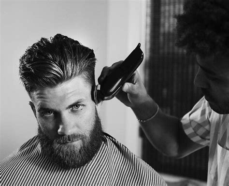 top  awesome bryce harper hair styles  bryce harper haircuts  mens style