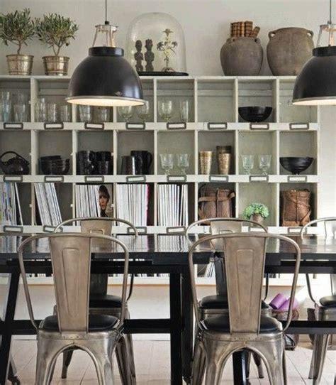 sillas  comedor estilo industrial casa web