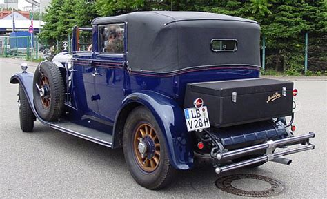 Production continued till 1929 by which time daimler had merged with benz & cie (effective 1926). Mercedes 1889-30