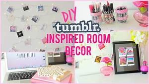 DIY ROOM DECOR TUMBLR INSPIRED I Dizzybrunette3 - YouTube