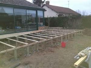 attrayant prix terrasse bois suspendue 3 faire une With prix terrasse bois suspendue