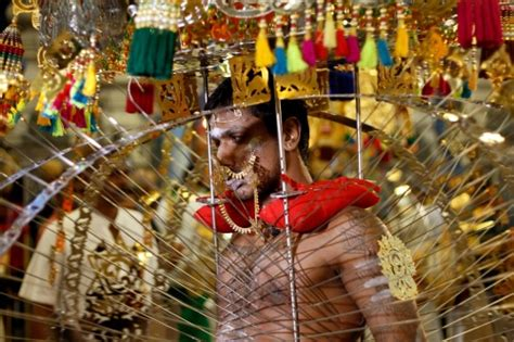 pictures  devotee performs  kavadi attam dance