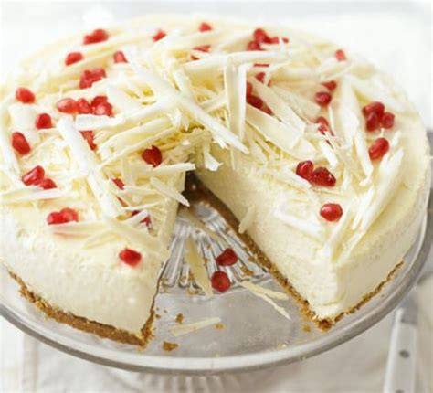 white chocolate ricotta cheesecake recipe bbc good food