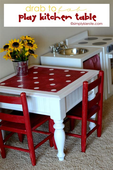 drab to fab play kitchen table simplykierste