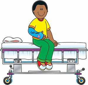 Sick person in hospital clipart Clip Art Library