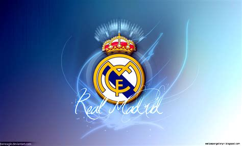 Real Madrid Background Real Madrid Blue Logo Hd Wallpaper Gallery