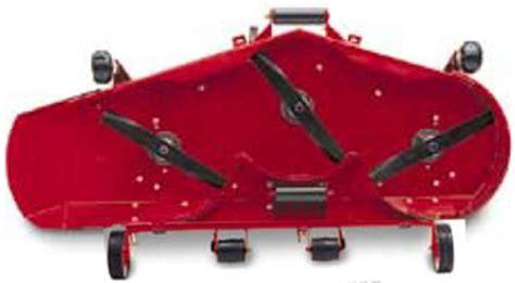 vermont toro 5xi series 60 inch side discharge mower deck