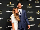 : Marcus Mariota and his girlfriend, Kiyomi Cook, on the ...