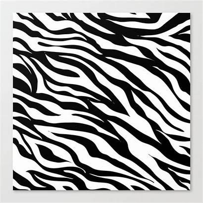 Animal Zebra Stripes Safari Modern Canvas Society6