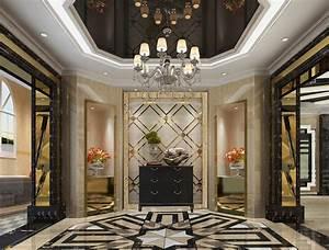 Hotel lobby lighting marble ceramic d design