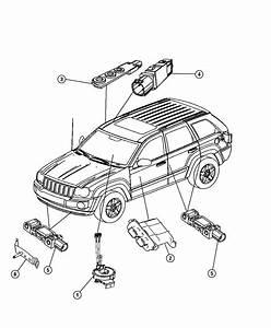 Jeep Grand Cherokee Sensor  Strain Gage  Strain Gauge
