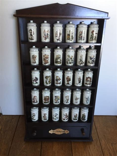Hummel Spice Rack by Original Hummel Spice Rack With 30 Spice Jars And A Drawer