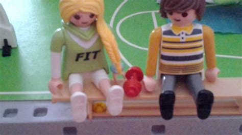 playmobil drague 224 la salle de sport