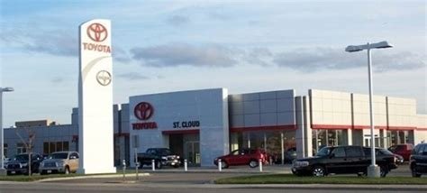 Toyota Dealership Mn by St Cloud Toyota Dealership Yelp