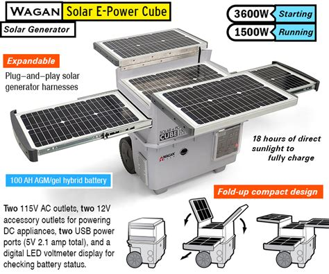 Best Solar Power by Best Solar Generator Complete Portable Solar Power