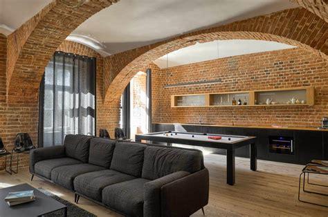 brick apartment arhitektura ab objekt doo archdaily