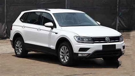 Seater Suvs by 2017 Volkswagen Tiguan Xl 7 Seater Suv Spied