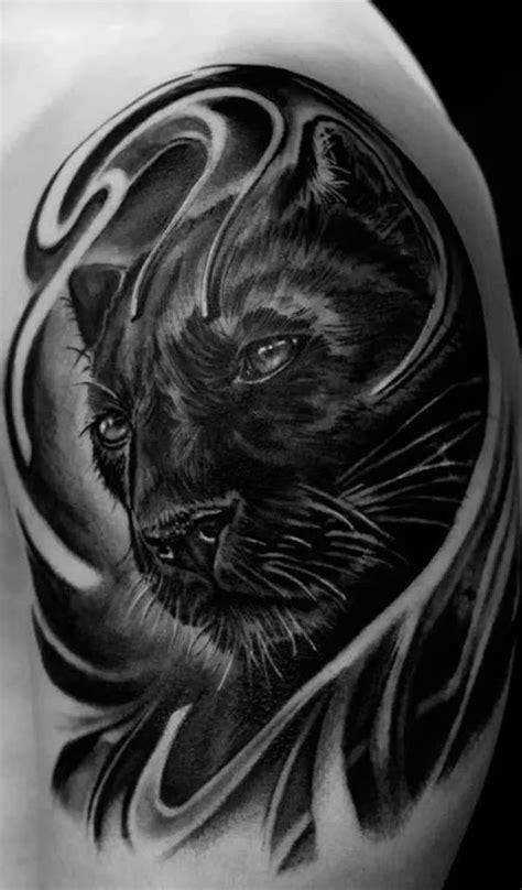 100+ Panther Tattoos   Black panther tattoo, Jaguar tattoo