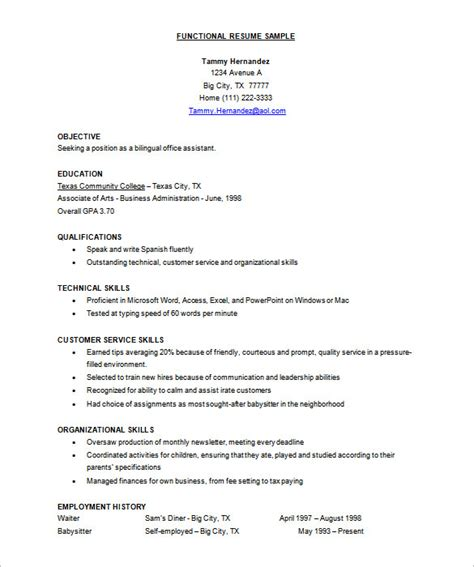 Free Usable Resume Templates by Resume Template 92 Free Word Excel Pdf Psd Format Free Premium Templates