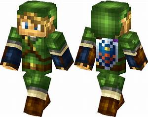 Legend Of Zelda Toon Link Skin Minecraft Skin