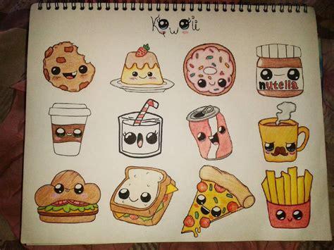 comida kawaii 3 dibujos colors todoalapiz kawaii food dcgonz 13 06 16 n n cosas