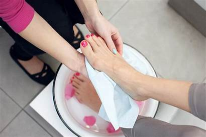Pedicures Types Different Feet Pedicure Woman Doing
