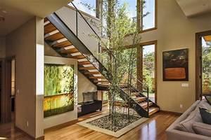 Interieur Maison Contemporaine Escalier