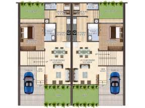 layout of house row houses plan villa exotica guwahati villa exotica guwahati assam india