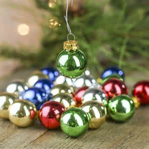 miniature glass ball ornaments christmas ornaments christmas and winter holiday crafts