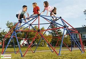 Jeux Exterieur Bois Enfant : jeux d 39 ext rieur aire de jeux portique trampoline mon ~ Premium-room.com Idées de Décoration