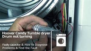 Hoover Candy Tumble Dryer Drum Not Turning And Belt Ok