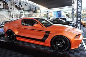 Custom Boss Mustang