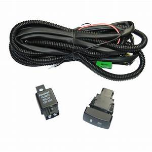 Relay Wiring Harness Switch H11 For Honda Civic Crv Add