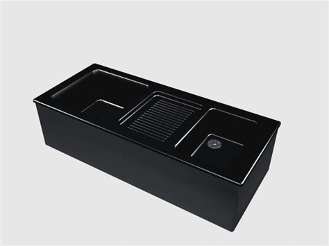 black ceramic kitchen sink  model dsmax files   modeling   cadnav