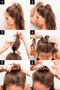 25+ melhores ideias de Penteados fáceis no Pinterest ...