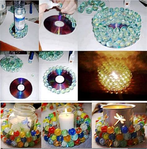 diy marbles candle pictures   images