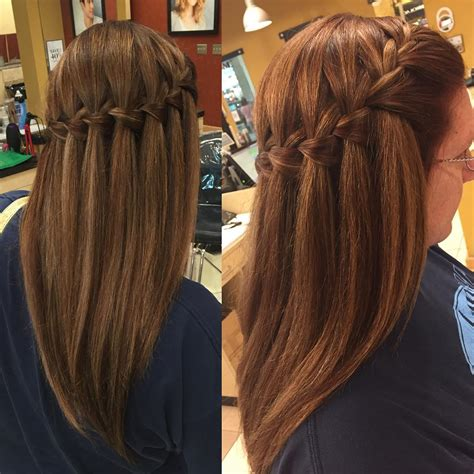insanely cute waterfall hairstyles   hairstyle monkey