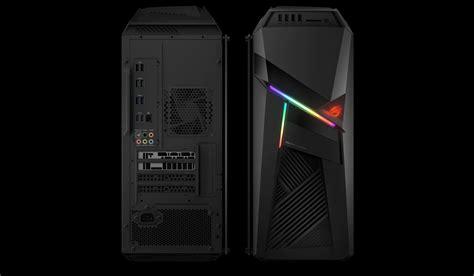 asus introduces  rog strix glcx gaming desktop