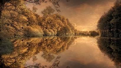 Autumn Scandinavia Desktop Pc Parede Papel Widescreen