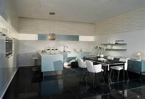 Küche Einrichten Ideen : wohnk che ideen ~ Frokenaadalensverden.com Haus und Dekorationen